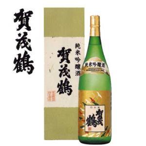広島県 賀茂鶴 純米吟醸酒 1800ml|sakedepotcom