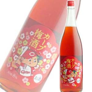 中国醸造 カープ女子プロデュース カープ梅酒 1800ml|sakedepotcom