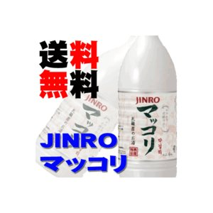 眞露(JINRO)ジンロ マッコリ 1000ml 15本 ケース 送料無料|sakedepotcom