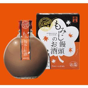 広島 中国醸造 「もみじ饅頭のお酒」 360ml|sakedepotcom