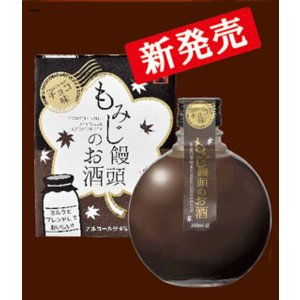 広島 中国醸造 「もみじ饅頭のお酒」 チョコレート味 360ml|sakedepotcom