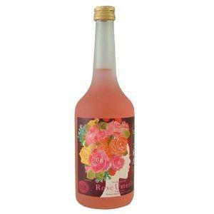 中埜酒造 盛蔵(さかりくら) ローズ梅酒 9% 720ml (6本で送料無料)|sakedepotcom
