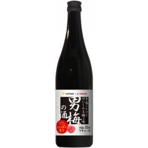 サッポロ 男梅の酒 720ml 1本|sakedepotcom