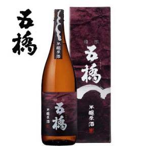 酒井酒造 五橋 吟醸原酒 1800ml|sakedepotcom
