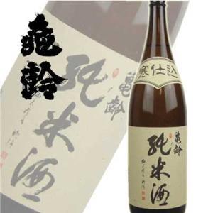 亀齢酒造 亀齢 寒仕込 純米酒 1800ml(広島)|sakedepotcom