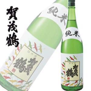 広島県 賀茂鶴 純米酒 1800ml|sakedepotcom