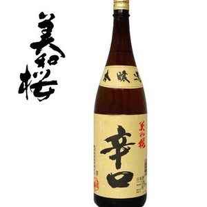 美和桜 本醸造 辛口 1800ml|sakedepotcom
