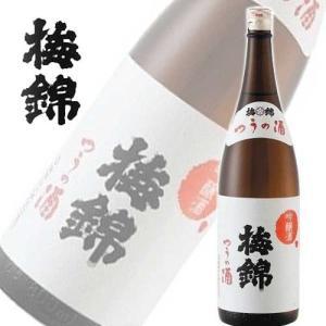 梅錦 吟醸 つうの酒 1800ml瓶 吟醸酒 (愛媛県)|sakedepotcom