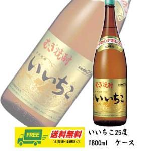 【送料無料】麦焼酎 いいちこ 25度 瓶 1800ml×6本 1ケース(三和酒類) |sakedepotcom