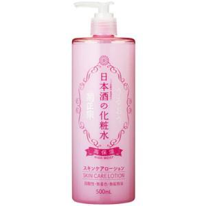 菊正宗 日本酒の化粧水  (高保湿)  500ml 1本|sakedepotcom