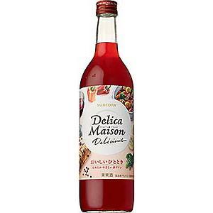 サントリー デリカメゾン デリシャス 赤ワイン 720ml|sakedepotcom