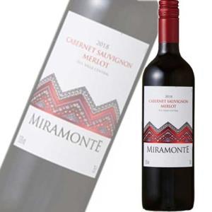 《チリ》 ミラモンテ カベルネ・ソーヴィニオン メルロ(赤ワイン)ー 750ml 【混載20本まで1個口で発送いたします】|sakedepotcom