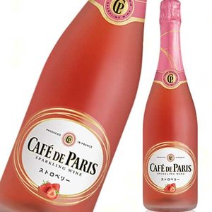 フルーツスパークリングワイン カフェ・ド・パリ ストロベリー 750ml