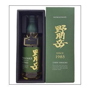 34度 野間岳1985 720ml瓶 とうもろこし焼酎 萬世...