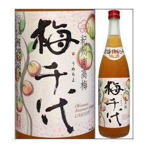 14度 梅千代 720ml瓶 泡盛仕込み梅酒 ヘリオス酒造 沖縄県 化粧箱なし