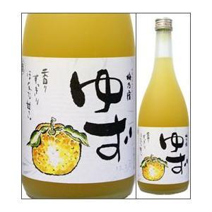 8度 梅乃宿 ゆず酒 720ml瓶 梅乃宿酒造 奈良県 化粧箱なし
