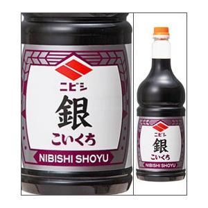 ニビシしょうゆ 銀 1800mlペットボトル こいくちしょうゆ(混合) ニビシ醤油  福岡県