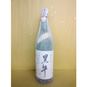 日本酒 黒牛 純米吟醸 16度 1800ml 名手酒造 和歌山|sakehonpotauemon