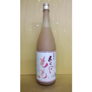 梅乃宿 あらごしもも酒 1800ml うめのやど 果実酒 奈良|sakehonpotauemon