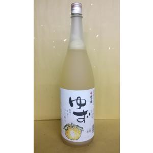 梅乃宿 ゆず酒 1800ml うめのやど 果実酒 奈良県|sakehonpotauemon