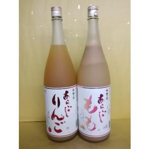お買い得!梅乃宿 あらごもも あらごしりんご 1800ml うめのやど 果実酒 奈良県|sakehonpotauemon