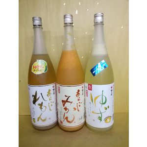 梅乃宿 あらごれもん あらごしみかん ゆず 1800ml うめのやど 果実酒 奈良県|sakehonpotauemon
