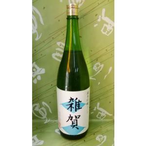 日本酒 雑賀 純米吟醸 15度 1800ml 九重雑賀 和歌山県|sakehonpotauemon