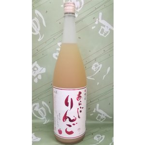 梅乃宿 あらごしりんご 7% 1800ml|sakehonpotauemon