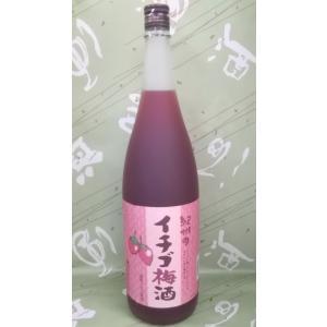 紀州のイチゴ梅酒 12% 1800ml 国産イチゴ使用 中野BC|sakehonpotauemon
