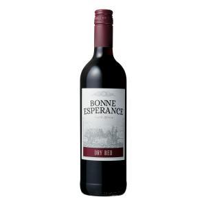 赤ワイン 南アフリカ 西ケープ州 ボン・エスペランス 赤 750ml|sakehonpotauemon