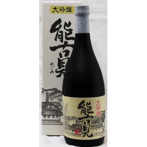 能古見 大吟醸720ml入|sakehouse