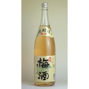 芋焼酎仕込み 五代梅酒 12度 1800ml|sakeichi
