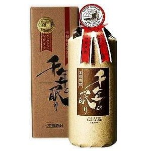 千年の眠り 麦焼酎 40度 720ml|sakeichi