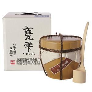 甕雫(かめしずく) 芋焼酎 20度1800ml|sakeichi