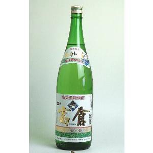 高倉 30度 黒糖焼酎1800ml|sakeichi