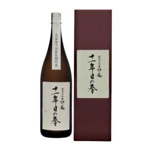 [清酒・日本酒]送料無料※純米大吟醸 印籠 「十一年目の春」箱付き 1.8L瓶(1800ml メイリ めいり)明利酒類|sakemakino