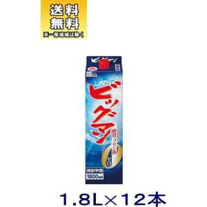 [焼酎甲類]送料無料※2ケースセット 25度 ビッグマン(6本+6本)1.8Lパックセット(12本)(1800ml 2000 25% ゴードー BIGMAN)合同酒精|sakemakino