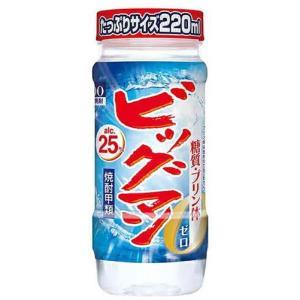 [焼酎甲類]3ケースまで同梱可 25度 ビッグマン 220mlカップ 1ケース30本入り (220ml 25% ゴードー BIGMAN ペットカップ)合同酒精|sakemakino