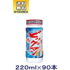 [焼酎甲類]送料無料※3ケースセット 25度 ビッグマン(30本+30本+30本)220mlカップセット(90本)(220ml 25% BIGMAN)合同酒精|sakemakino