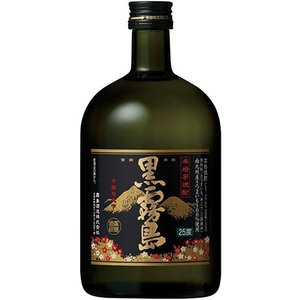 [芋焼酎]24本まで同梱可 25度 黒霧島 720ml 1本 宮崎県 霧島酒造 sakemakino