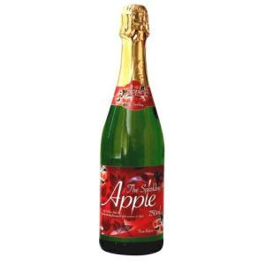 [飲料]20本まで同梱可 朝日 アップル ノンアルコールスパークリングワイン 750ml瓶 1本(りんご・リンゴジュース)|sakemakino
