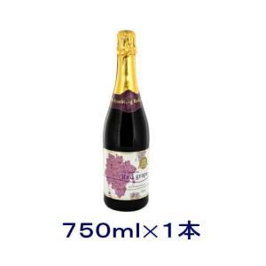 [飲料]送料無料※12本セット 朝日 レッドグレープ ノンアルコールスパークリングワイン 750ml瓶 12本(1ケース12本入り)|sakemakino