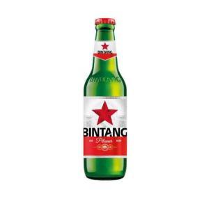 [ビール]1ケースで1梱包 インドネシアビール ビンタンビール 330ml 1ケース24本入り|sakemakino