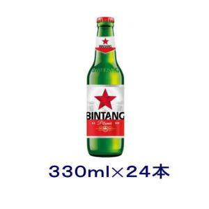[ビール]送料無料※ インドネシアビール ビンタンビール 330ml 1ケース24本入り|sakemakino