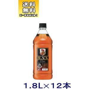 [ウイスキー]送料無料※12本セット アサヒ ブラックニッカクリア 1.8LPET 12本(2ケースセット)(6本+6本)(1800ml コンク)|sakemakino