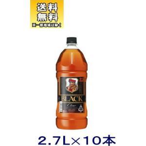 [ウイスキー]送料無料※10本セット アサヒ ブラックニッカクリア 2.7LPET 10本(2700ml コンク ニッカブレンデッド)|sakemakino