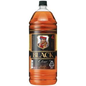 [ウイスキー]6本まで同梱可 アサヒ ブラックニッカクリア 4LPET 1本(2700ml コンク ニッカブレンデッドウイスキー NIKKA)アサヒビール|sakemakino