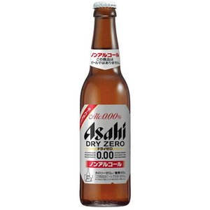 [ビールテイスト飲料]1ケースで1梱包 アサヒ ドライゼロ 334ml瓶(334ml)1ケース30本入り ノンアルコール sakemakino