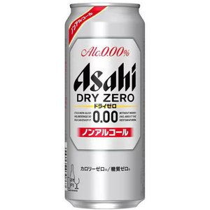 [ビールテイスト飲料]ヤフー最安値挑戦中 2ケースまで同梱可 アサヒ ドライゼロ 500缶(500ml)1ケース24本入り ノンアルコール|sakemakino