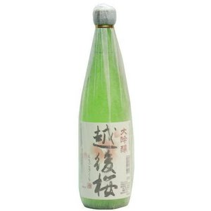 [清酒・日本酒]24本まで同梱可 越後桜 大吟醸 720ml 1本(720ml)越後桜酒造|sakemakino